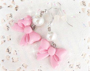 Pink Unicorn Earrings