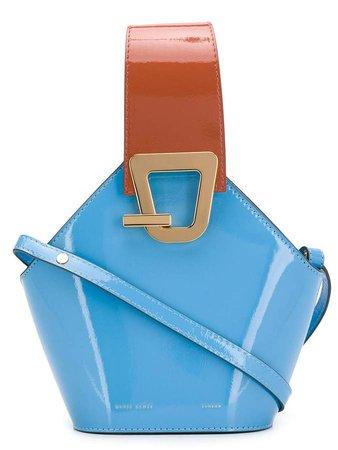 buckle-detail cross body bag