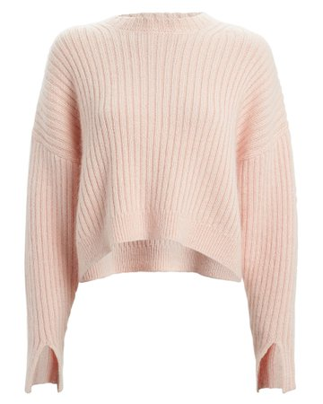 3.1 Phillip Lim | Rib Knit Wool & Mohair Sweater | INTERMIX®