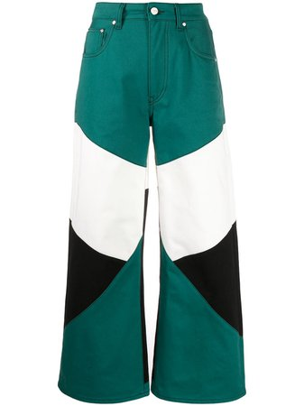 Kirin colour-block Trousers - Farfetch