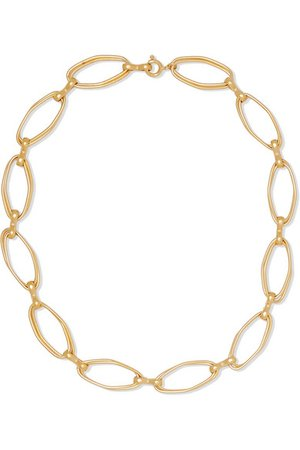 1064 Studio | Colors of Shadow gold-plated necklace | NET-A-PORTER.COM