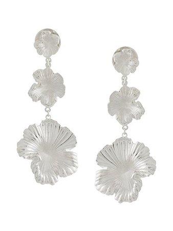 Meadowlark Coral Drop Earrings