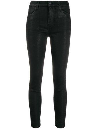J Brand Alana high-rise Skinny Jeans - Farfetch