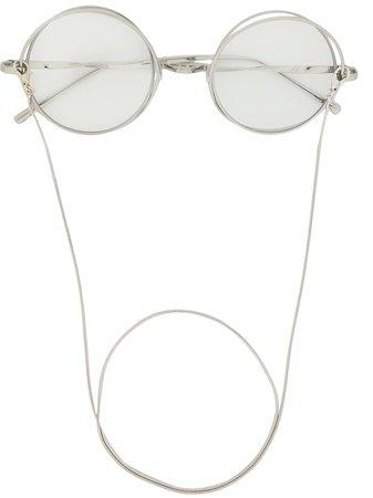 Percy Lau x Deep Moss Star Ring Glasses - Farfetch