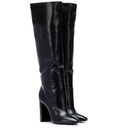 Lou 95 Leather Boots | Saint Laurent - mytheresa
