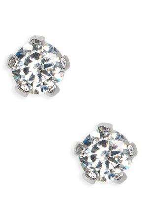 Sterling Silver 3mm Earrings | Nordstrom