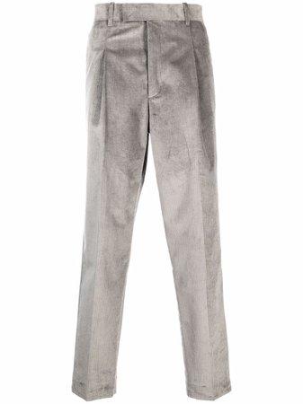 PAUL SMITH corduroy straight-leg trousers - FARFETCH