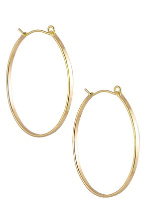 Nashelle Barrel Hoop Earrings | Nordstrom