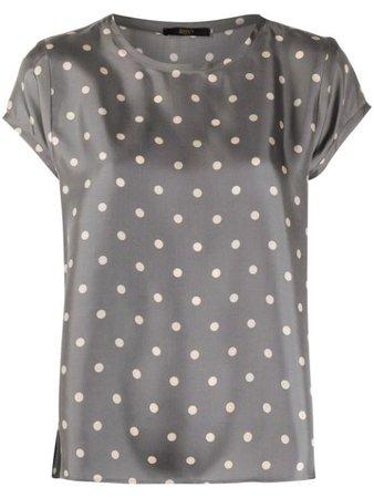 Seventy Silk polka-dot Blouse - Farfetch
