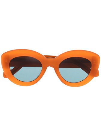 LOEWE Butterfly cat-eye Frame Sunglasses - Farfetch