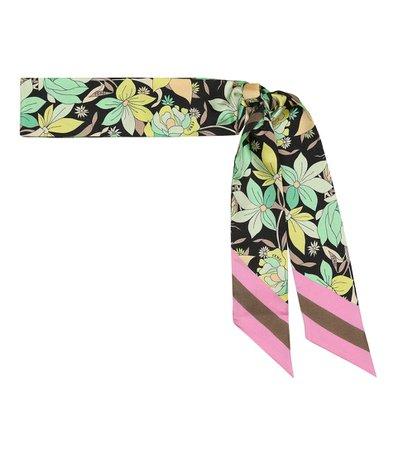 Floral Silk Scarf | Fendi - Mytheresa