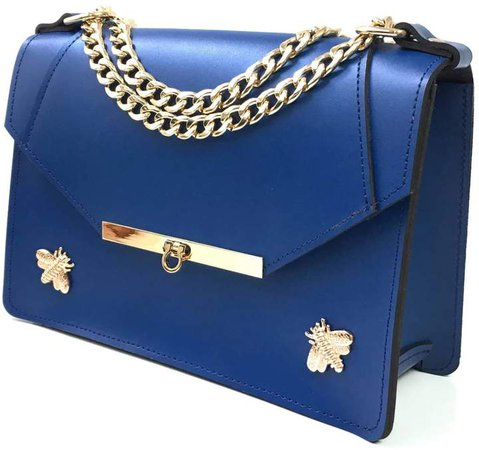 Angela Valentine Handbags - Gavi Shoulder Bag in Royal Blue
