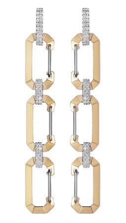 Eera Triple Chiara Earrings