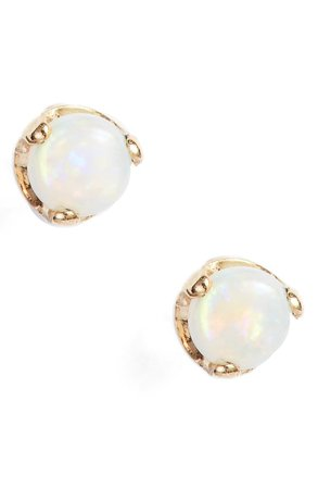 Chicco Opal Stud Earrings