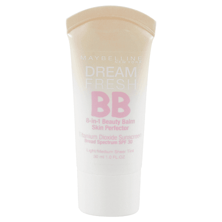 Maybelline® New York Dream Fresh BB Cream 8-in-1 Skin Perfector, Light/Medium, 1 fl oz Foundation | Meijer Grocery, Pharmacy, Home & More!