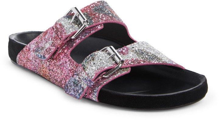 Lennyo Glitter Slide Sandal
