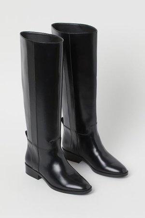 Tall Boots - Black - Ladies   H&M US
