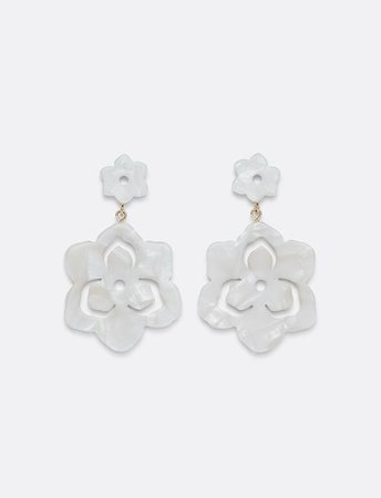 Magnolia Double Drop Earrings – Draper James