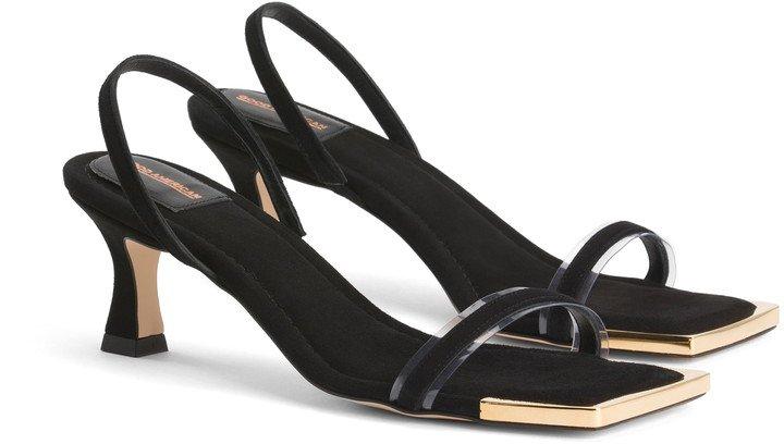 The Standout Square Toe Sandal