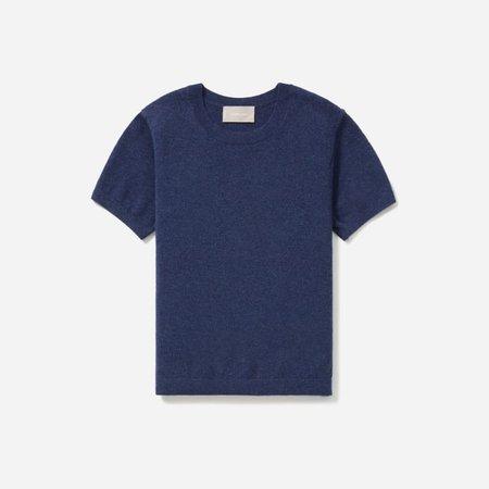 Women's Cashmere Tee | Everlane blue