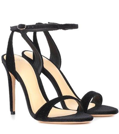 Willow velvet sandals