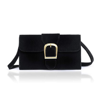 Rylan Velvet Shoulder Bag