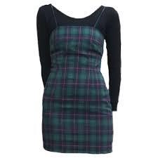 green plaid dress png - Google Search