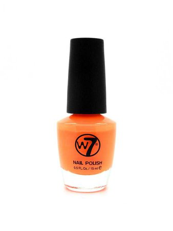 Nail Polish 113 Matte Orange - W7 Cosmetics