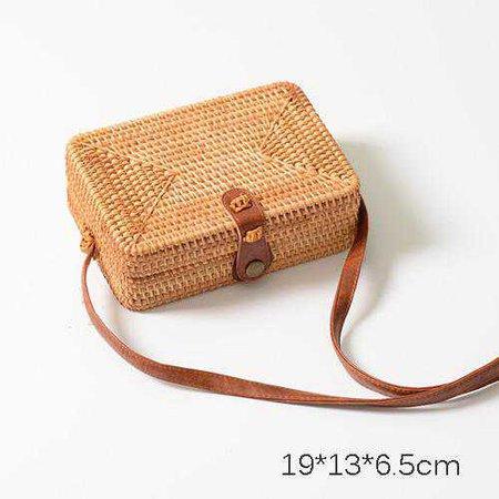 Handmade Bamboo Rattan Bag