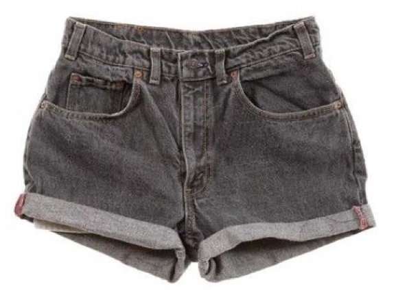 Grey Shorts - @starlcves PNG Collection