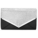 Black clutch purses for women evening bags and clutches for women evening bag purses and handbags evening clutch purse(Black): Handbags: Amazon.com