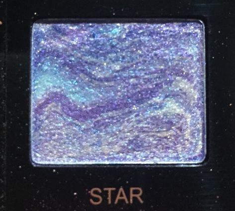 Blue/Purple/Silver Glitter Eyeshadow