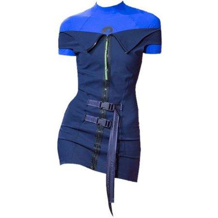 BLUE DRESS|