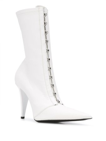 FENTY Corset 105mm pointed-toe Boots - Farfetch