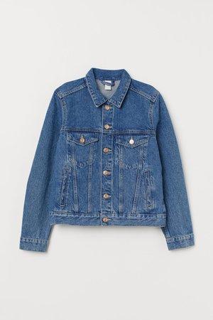 Denim Jacket - Denim blue - Ladies | H&M US