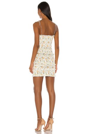 V. Chapman x REVOLVE Drew Mini Dress in Capri Rose | REVOLVE