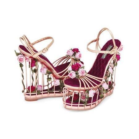 birdcage heels