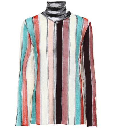 Missoni, Striped wool-blend sweater