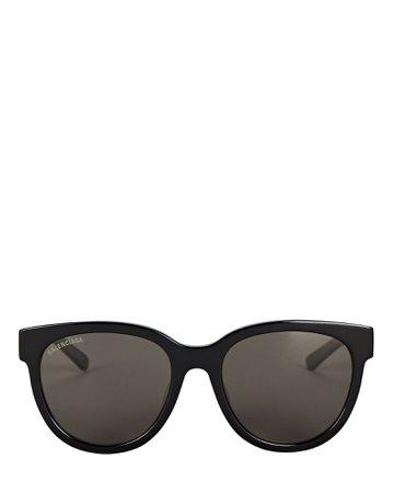 Balenciaga Oversized Round Sunglasses   INTERMIX®