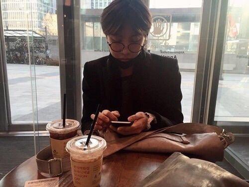 coffee date with hoseok