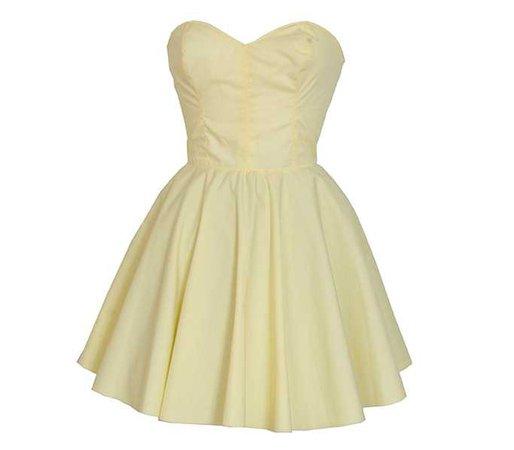 pale yellow short prom dress - Google Search