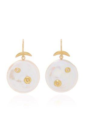 Annette Ferdinandsen Pearl Luna Earring