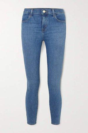 Alana High-rise Skinny Jeans - Mid denim