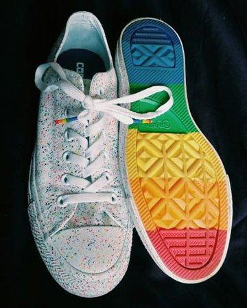 Converse Splatter Pride Shoes