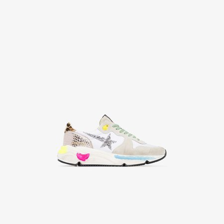 Multicoloured Running Sole Sneakers