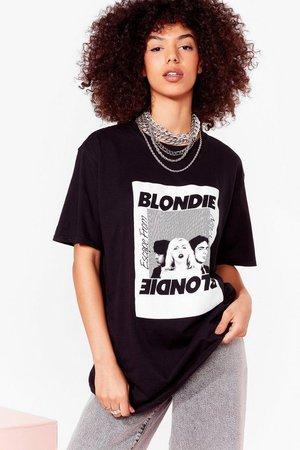 Blondie Graphic and Crewline T-shirt   Nasty Gal