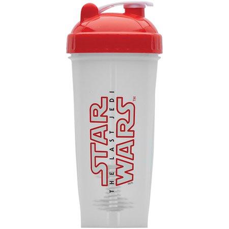 Forza Sports: Performa PerfectShaker 28 oz. Star Wars Shaker Cup Bottle, Last Jedi Logo, White   Rakuten.com