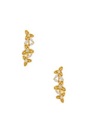 ALEYOLE Louis Earring in Gold | REVOLVE