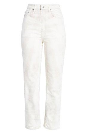 Ksubi Chlo Tie Dye High Waist Ankle Straight Leg Jeans | Nordstrom