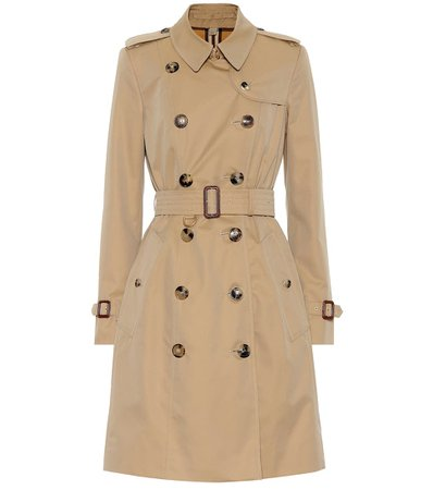 Cotton Gabardine Trench Coat - Burberry | Mytheresa